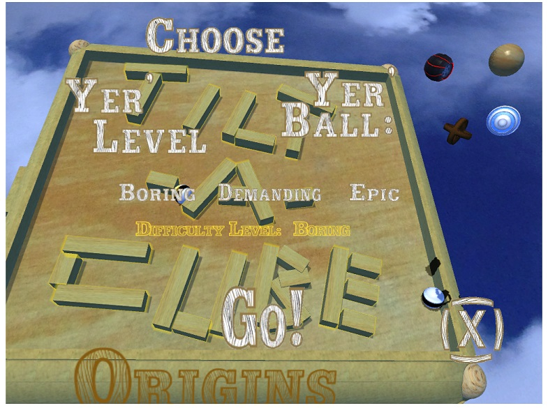 Jan 16 Choose level ball